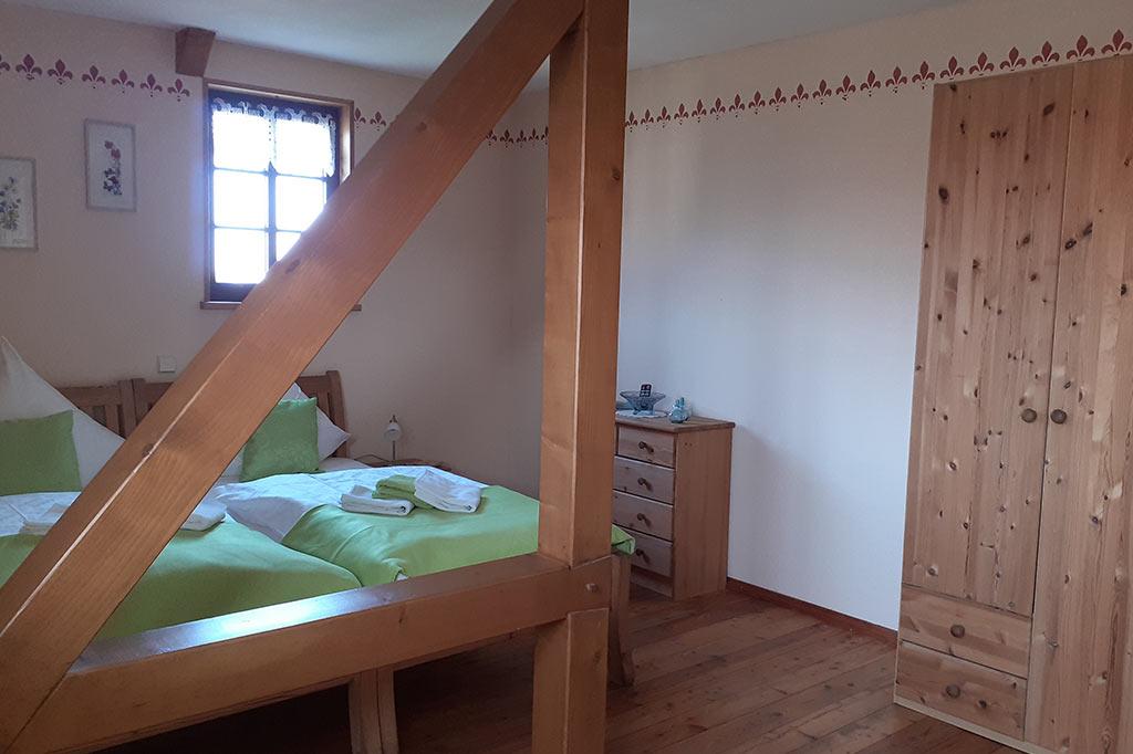 Zimmer Dorfblick